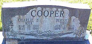 COOPER, BERNICE F. - La Plata County, Colorado | BERNICE F. COOPER - Colorado Gravestone Photos