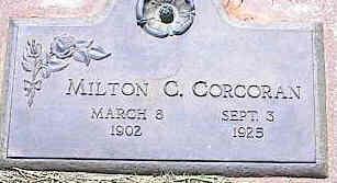 CORCORAN, MILTON C. - La Plata County, Colorado | MILTON C. CORCORAN - Colorado Gravestone Photos