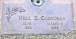 CORCORAN, NELL E. - La Plata County, Colorado | NELL E. CORCORAN - Colorado Gravestone Photos