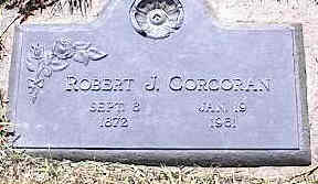 CORCORAN, ROBERT J. - La Plata County, Colorado | ROBERT J. CORCORAN - Colorado Gravestone Photos