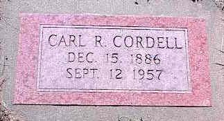 CORDELL, CARL R. - La Plata County, Colorado   CARL R. CORDELL - Colorado Gravestone Photos