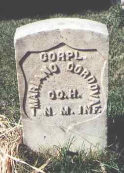 CORDOVA, MARIANO - La Plata County, Colorado | MARIANO CORDOVA - Colorado Gravestone Photos