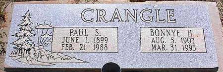 CRANGLE, BONNYE H. - La Plata County, Colorado | BONNYE H. CRANGLE - Colorado Gravestone Photos