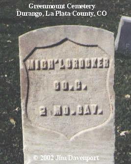 CROCKER, MICH'L - La Plata County, Colorado | MICH'L CROCKER - Colorado Gravestone Photos