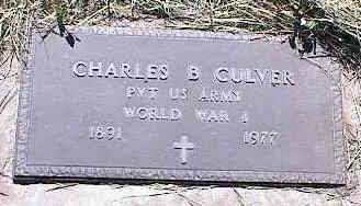 CULVER, CHARLES B. - La Plata County, Colorado   CHARLES B. CULVER - Colorado Gravestone Photos