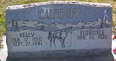 CUNDIFF, FLORENCE - La Plata County, Colorado | FLORENCE CUNDIFF - Colorado Gravestone Photos