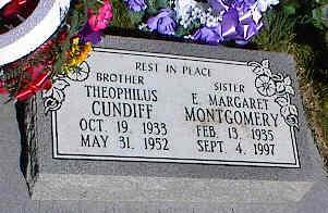 CUNDIFF, THEOPHILUS - La Plata County, Colorado | THEOPHILUS CUNDIFF - Colorado Gravestone Photos