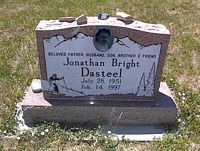 DASTEEL, JONATHAN BRIGHT - La Plata County, Colorado | JONATHAN BRIGHT DASTEEL - Colorado Gravestone Photos