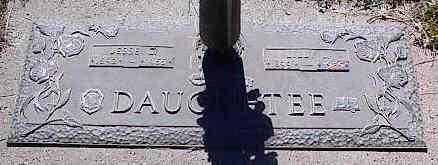 DAUGHETEE, LILLY L. - La Plata County, Colorado | LILLY L. DAUGHETEE - Colorado Gravestone Photos