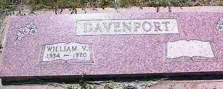 DAVENPORT, WILLIAM V. - La Plata County, Colorado | WILLIAM V. DAVENPORT - Colorado Gravestone Photos