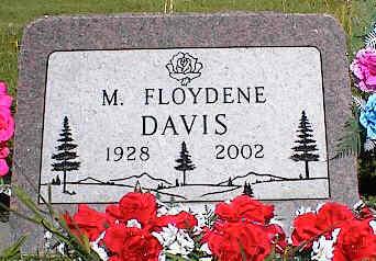 DAVIS, M. FLOYDENE - La Plata County, Colorado | M. FLOYDENE DAVIS - Colorado Gravestone Photos