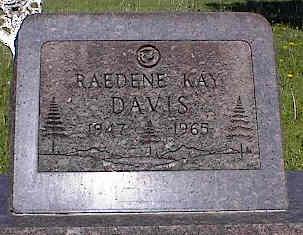 DAVIS, RAEDENE KAY - La Plata County, Colorado | RAEDENE KAY DAVIS - Colorado Gravestone Photos