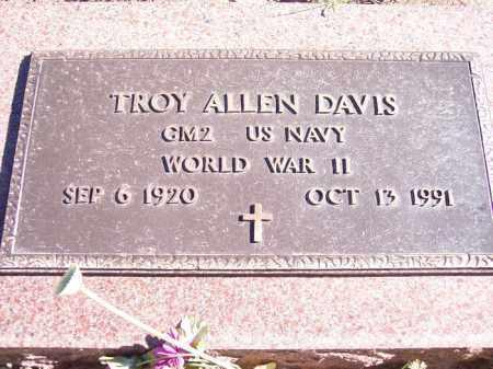 DAVIS, TROY ALLEN - La Plata County, Colorado | TROY ALLEN DAVIS - Colorado Gravestone Photos