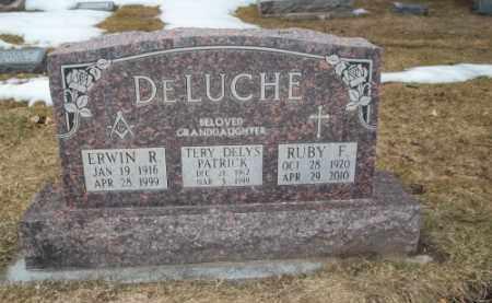DELUCHE, ERWIN R. - La Plata County, Colorado | ERWIN R. DELUCHE - Colorado Gravestone Photos