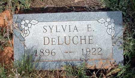 DELUCHE, SYLVIA E. - La Plata County, Colorado   SYLVIA E. DELUCHE - Colorado Gravestone Photos