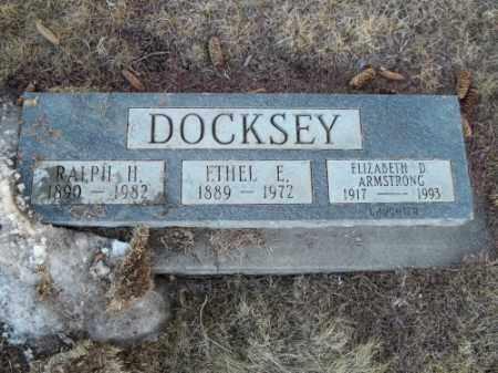 DOCKSEY, ETHEL E. - La Plata County, Colorado | ETHEL E. DOCKSEY - Colorado Gravestone Photos