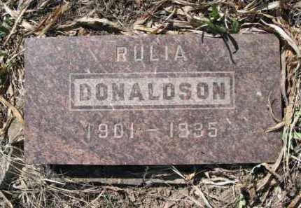 DONALDSON, RULIA - La Plata County, Colorado | RULIA DONALDSON - Colorado Gravestone Photos