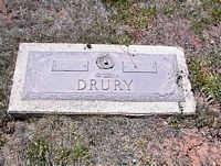 DRURY, EDITH PEARL - La Plata County, Colorado | EDITH PEARL DRURY - Colorado Gravestone Photos