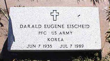 EISCHEID, DARALD EUGENE - La Plata County, Colorado   DARALD EUGENE EISCHEID - Colorado Gravestone Photos
