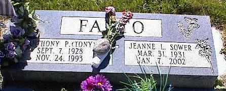 FANTO, JEANE L. - La Plata County, Colorado | JEANE L. FANTO - Colorado Gravestone Photos