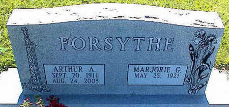 FORSYTHE, ARTHUR A. - La Plata County, Colorado | ARTHUR A. FORSYTHE - Colorado Gravestone Photos