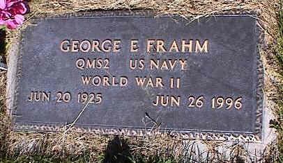 FRAHM, GEORGE E. - La Plata County, Colorado | GEORGE E. FRAHM - Colorado Gravestone Photos