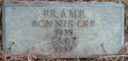 FRAME, BONNIE LEE - La Plata County, Colorado   BONNIE LEE FRAME - Colorado Gravestone Photos