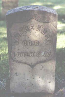 FREEMAN, D. W. - La Plata County, Colorado   D. W. FREEMAN - Colorado Gravestone Photos