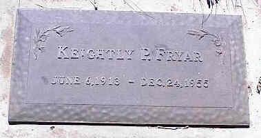 FRYER, KEIGHTLY P. - La Plata County, Colorado   KEIGHTLY P. FRYER - Colorado Gravestone Photos