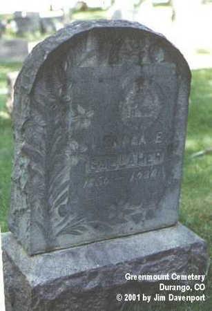 GALLAHER, LENORA E. - La Plata County, Colorado | LENORA E. GALLAHER - Colorado Gravestone Photos