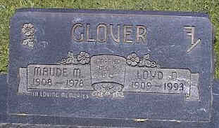 GLOVER, LOYD D. - La Plata County, Colorado | LOYD D. GLOVER - Colorado Gravestone Photos