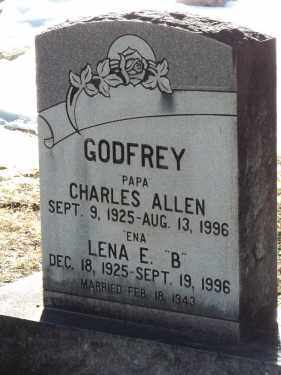 GODFREY, CHARLES ALLEN - La Plata County, Colorado | CHARLES ALLEN GODFREY - Colorado Gravestone Photos
