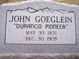 GOEGLEIN, JOHN - La Plata County, Colorado | JOHN GOEGLEIN - Colorado Gravestone Photos