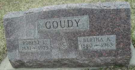 GOUDY, BERTHA K. - La Plata County, Colorado | BERTHA K. GOUDY - Colorado Gravestone Photos