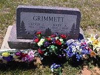 GRIMMETT, CALVIN L. - La Plata County, Colorado | CALVIN L. GRIMMETT - Colorado Gravestone Photos