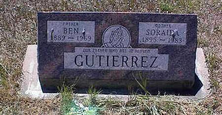 GUTIERREZ, SORAIDA - La Plata County, Colorado   SORAIDA GUTIERREZ - Colorado Gravestone Photos
