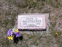 HAGENSICKER, JESSE M. - La Plata County, Colorado | JESSE M. HAGENSICKER - Colorado Gravestone Photos
