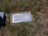 HALL, EDNA M. - La Plata County, Colorado | EDNA M. HALL - Colorado Gravestone Photos