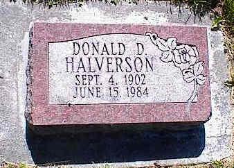 HALVERSON, DONALD D. - La Plata County, Colorado | DONALD D. HALVERSON - Colorado Gravestone Photos