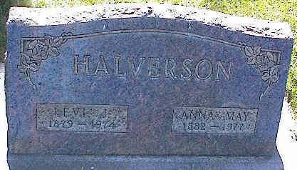 HALVERSON, LEVI J. - La Plata County, Colorado | LEVI J. HALVERSON - Colorado Gravestone Photos