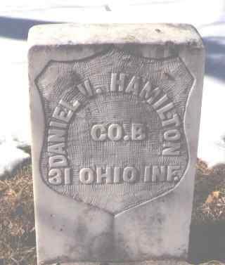 HAMILTON, DANIEL V. - La Plata County, Colorado   DANIEL V. HAMILTON - Colorado Gravestone Photos