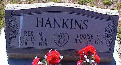 HANKINS, REX M. - La Plata County, Colorado | REX M. HANKINS - Colorado Gravestone Photos