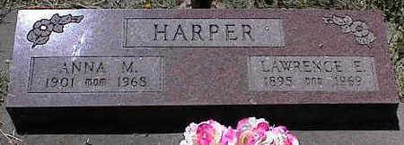 HARPER, LAWRENCE E. - La Plata County, Colorado | LAWRENCE E. HARPER - Colorado Gravestone Photos