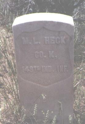 HECK, M. L. - La Plata County, Colorado | M. L. HECK - Colorado Gravestone Photos