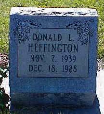 HEFFINGTON, DONALD J. - La Plata County, Colorado | DONALD J. HEFFINGTON - Colorado Gravestone Photos