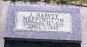 HEFFINGTON, J. HARVEY - La Plata County, Colorado | J. HARVEY HEFFINGTON - Colorado Gravestone Photos