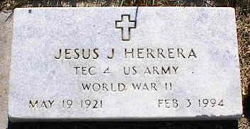 HERRERA, JESUS J. - La Plata County, Colorado | JESUS J. HERRERA - Colorado Gravestone Photos