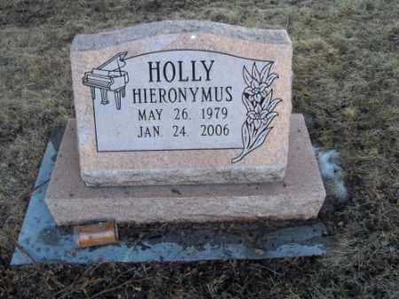 HIERONYMUS, HOLLY - La Plata County, Colorado | HOLLY HIERONYMUS - Colorado Gravestone Photos