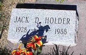 HOLDER, JACK D. - La Plata County, Colorado | JACK D. HOLDER - Colorado Gravestone Photos