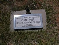 HOLT, CLEO - La Plata County, Colorado | CLEO HOLT - Colorado Gravestone Photos